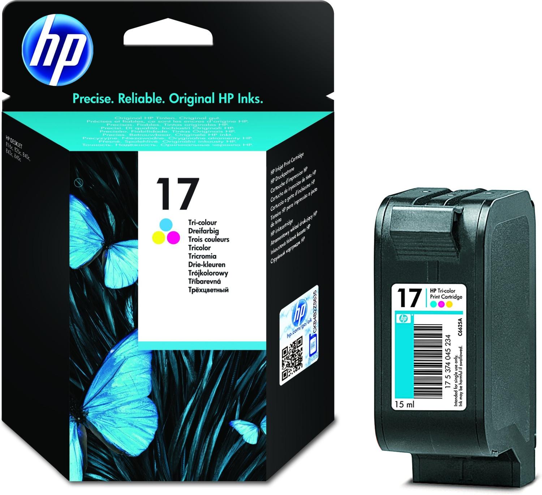 HP Nr. 17 3-farbig (C6625A)