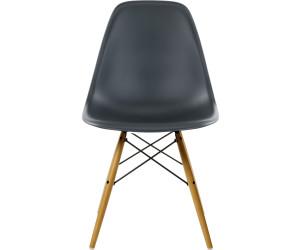 vitra eames plastic side chair dsw schwarz ab 356 25 preisvergleich bei. Black Bedroom Furniture Sets. Home Design Ideas