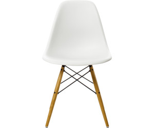 vitra eames plastic side chair dsw wei ab 284 04. Black Bedroom Furniture Sets. Home Design Ideas