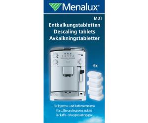 Menalux Entkalkungs Reinigungs Tabletten für Espresso Kaffeevollautomaten 6 Tabs