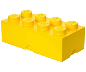 buy lego storage brick box 8 studs yellow from. Black Bedroom Furniture Sets. Home Design Ideas