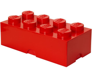 buy lego storage brick box 8 studs red from. Black Bedroom Furniture Sets. Home Design Ideas