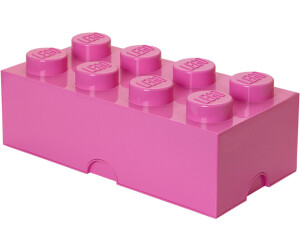 LEGO Storage Brick Box 8 Studs Pink