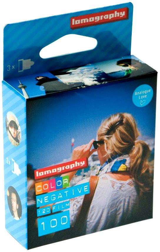 Image of Lomography 100 Color Negative 120 (3-pack)
