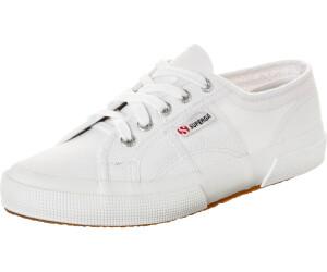 NUOVA Linea Uomo Donna SUPERGA 2570 Cotu Classic Scarpe Da Ginnastica in Tela Scarpa Sneaker Bianco
