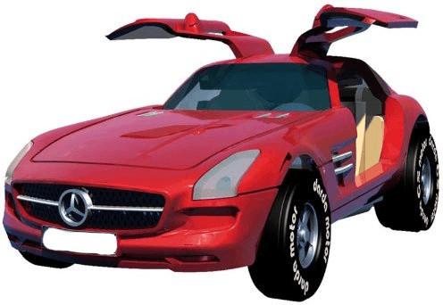 Darda Mercedes SLS AMG (sortiert, 50374)