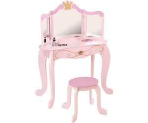 kidkraft coiffeuse princesse avec tabouret au meilleur prix sur. Black Bedroom Furniture Sets. Home Design Ideas