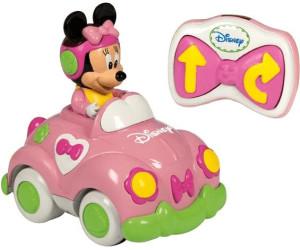 clementoni bb disney voiture radiocommande de minnie 14390 au meilleur prix sur idealofr - Bebe Disney