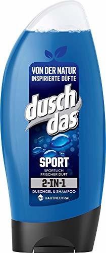 duschdas for Men Sport 2 in 1 Duschgel + Shampoo (250 ml)