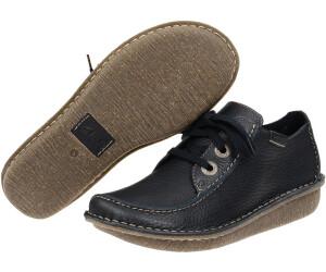 Clarks Ladies Blue Laced Shoes