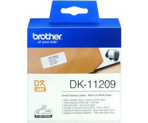 Etiketten  62 x 29 mm BROTHER DK-11209 Adressetiketten-Rolle 62x29 mm//800 Stck