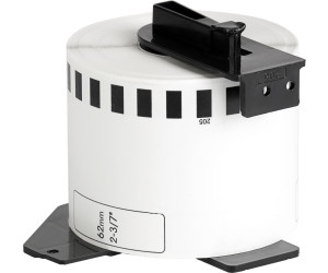 Brother Endlosetiketten Papier weiß 30,48 m x 62 mm   DK-22205 NEU