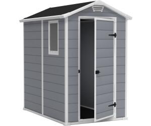 Keter manor 46 s 4 x 6 au meilleur prix sur for Jardin 4x6 shed