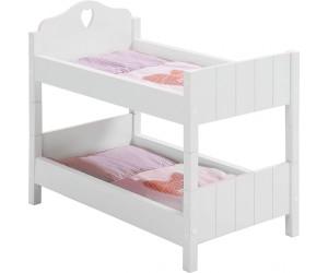 Puppenetagenbett Weiß : Roba fienchen puppenetagenbett ab u ac preisvergleich bei