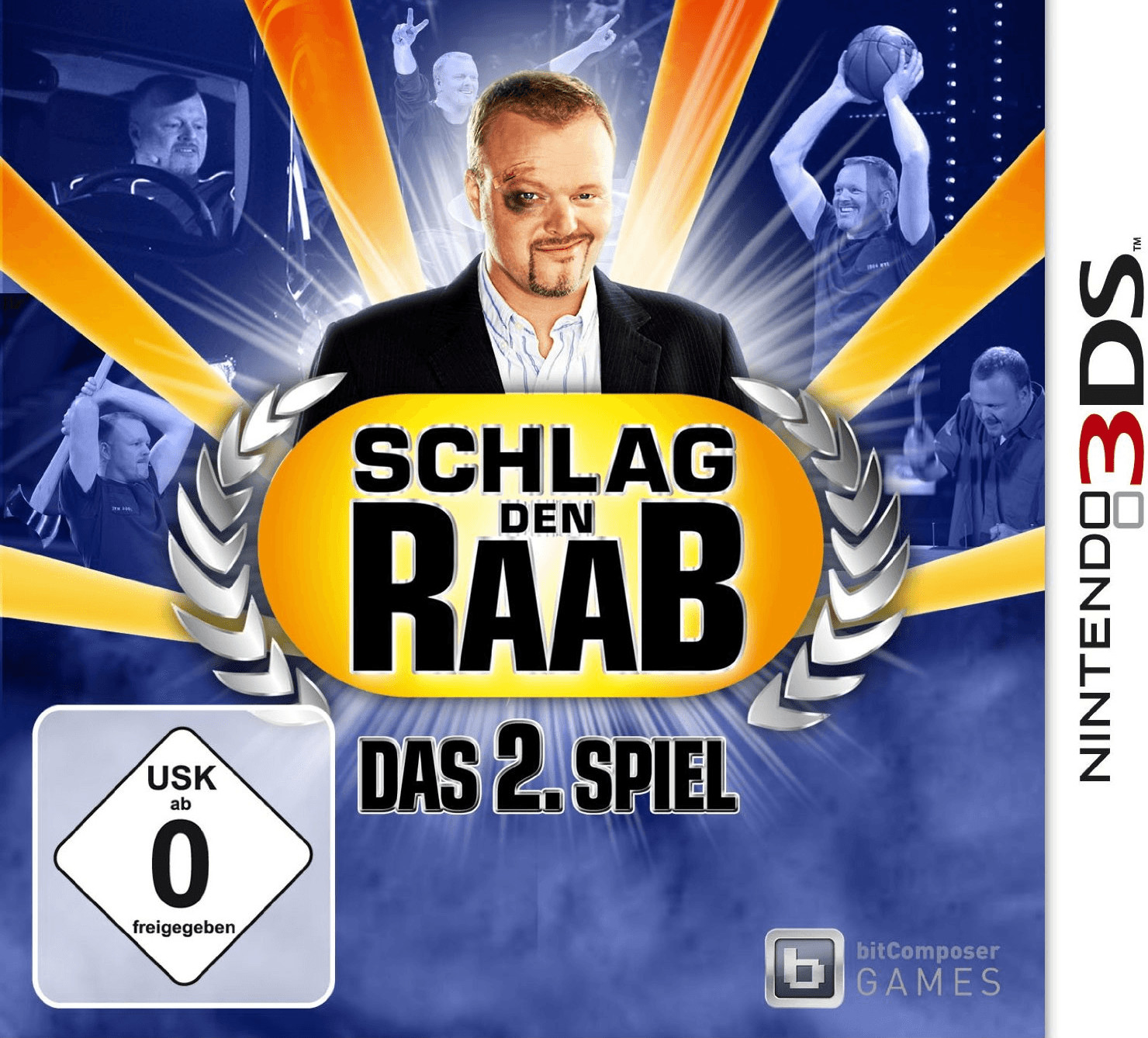 Schlag den Raab: Das 2. Spiel (3DS)