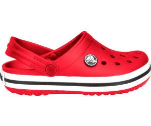 crocs Crocband II.5 Clog Kids, Unisex - Kinder Clogs, Rot (Red/Navy), 19/21 EU