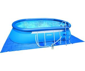 Intex Oval Frame Pool 549 X 305 X 107 Cm Mit Kartuschenfilter