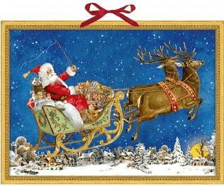 Coppenrath Nostalgischer Weihnachtsschlitten