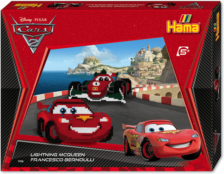 Hama Disney Cars - McQueen & Francesco