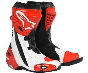 Stiefel Alpinestars Supertech R Rot Schwarz Weiß (Jetzt 20