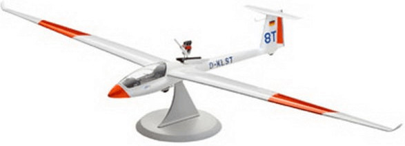 Revell Glider LS-8t with engine (04273)