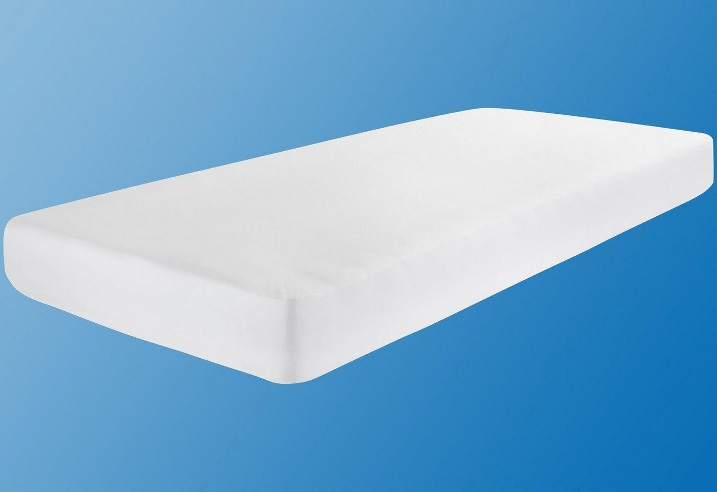 24-Bedding Wasserdichtes Spannbettlaken Spannbetttuch Molton 140 x 220 cm