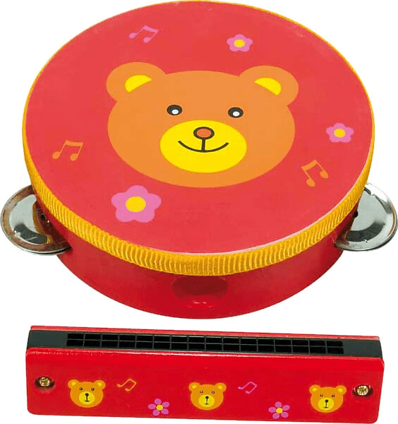 New Classic Toys Music set - Bear (0410)