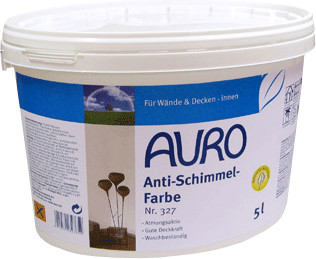 Auro Anti-Schimmel-Farbe 5 Liter (Nr. 327)