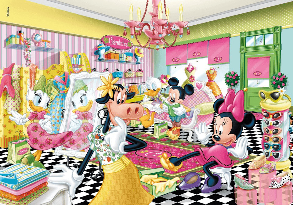 Clementoni Mickey - Minnie Mouse: Let´s go shop...