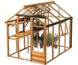 Juliana Classic 4,4 m² (ESG 3mm, Holz natur) ab 2.159,00 ...