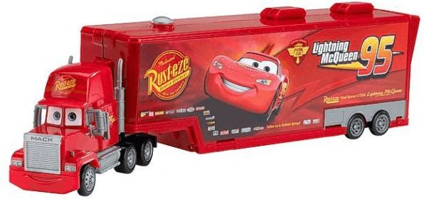 Mattel Disney Cars 2 - Mack Truck Sammelkoffer