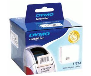 10 ROLLEN ETIKETTEN WEIß 32x57mm für DYMO Labelwriter 11354