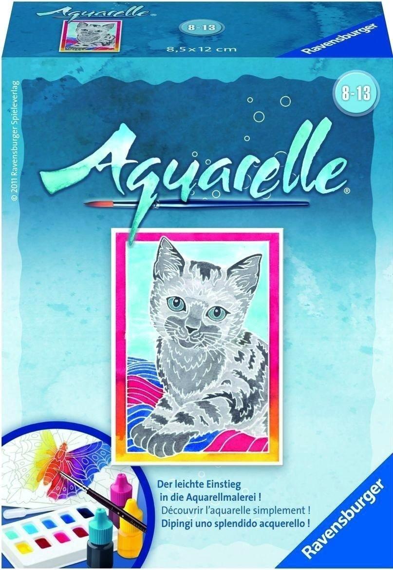 Ravensburger Aquarelle Katze