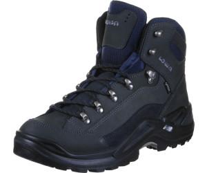 Chaussures de marche Lowa Renegade GORE TEX MID bleu marine