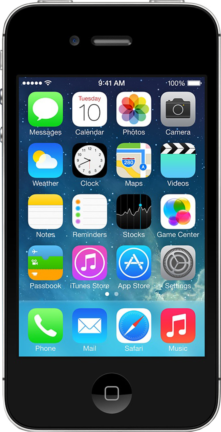 Apple iPhone 4S 16GB Schwarz