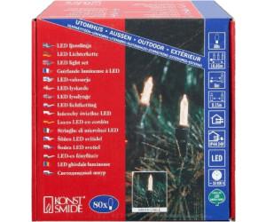 Weihnachtsbeleuchtung Aussen Led Preis.Konstsmide Led Mini Lichterkette 80er 6020 Ab 24 83