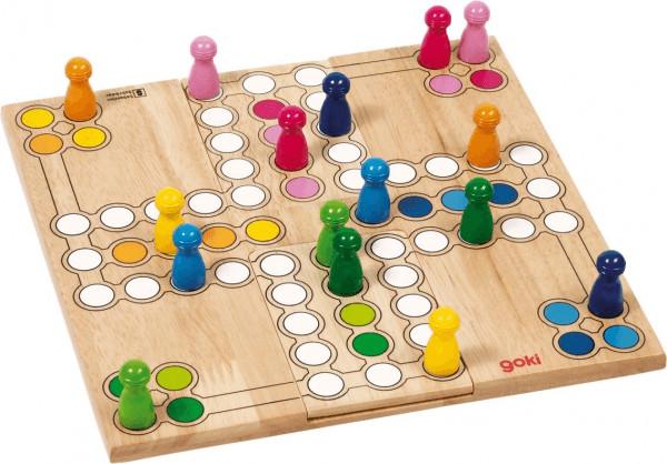 Goki Brettspiel Ludo (56914)