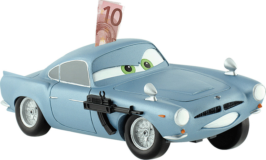 Bullyland Cars 2 - Finn Mc Missile Spardose
