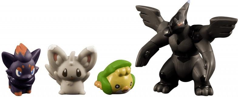 TOMY Pokemon schwarz & weiß Monster Collection ...