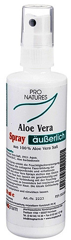 Imopharm Pro Natures Aloe Vera 100% Spray (100ml)