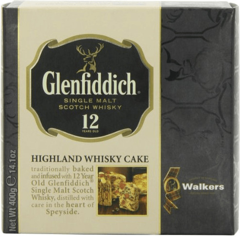Walkers Glenfiddich Whisky Cake (400 g)