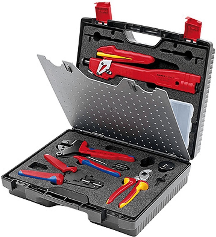 Knipex Werkzeugkoffer für Photovoltaik MC3 (979...
