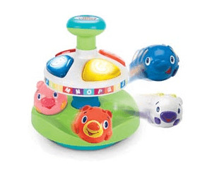 Image of Bright Starts Having a Ball Alphabet Pop Top