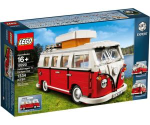 lego creator le camping car volkswagen t1 10220 au meilleur prix sur. Black Bedroom Furniture Sets. Home Design Ideas