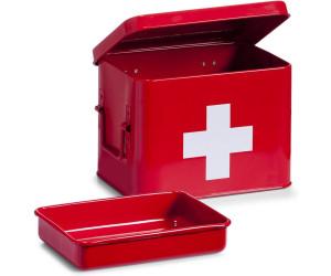 20 x 13 x 6,8 cm Metall ca Zeller 19232 Medizin-Box First Aid rot