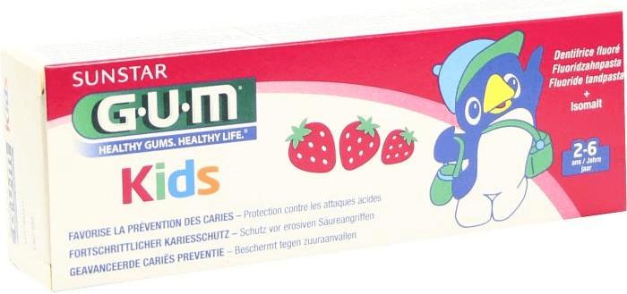 GUM Kinder Zahncreme (2-6 Jahre)