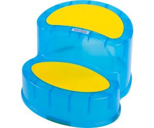 SITZ//TRITT BLAU Kunststoff blau BIECO 79000112 BHT 34x20x39 cm