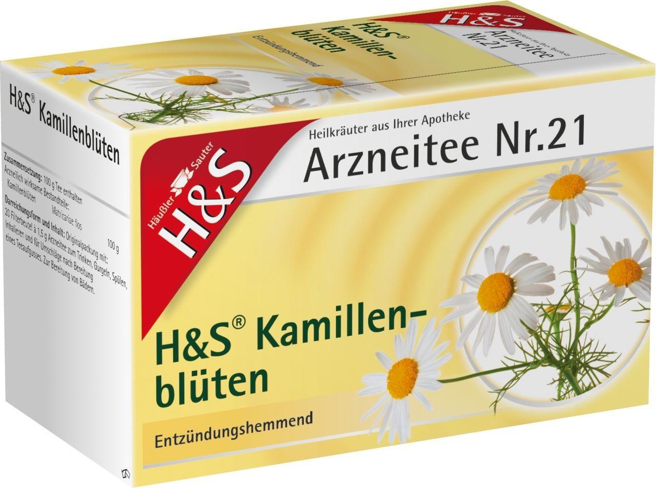 H&S Kamillenblüten Nr. 21 (20 Stk.)