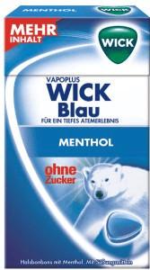 Wick Blau ohne Zucker (46g)
