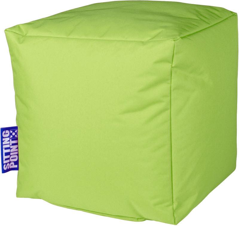 Sitting Point Sitzwürfel Cube Scuba grün